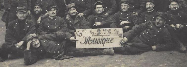 collection de Pierre-Louis Prunier (carnets de guerre, cartes postales et lettres d'Octave Prunier (1891-1948), musicien du 6eme régiment d'infanterie)