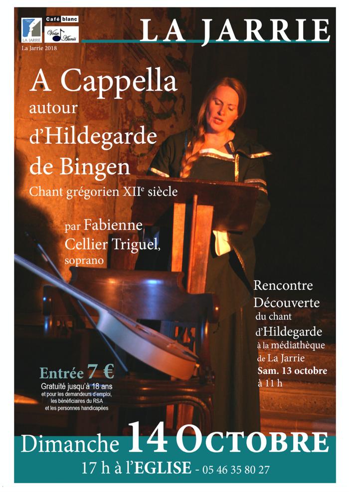 Hildegarde de Bingen à la Jarrie par Fabienne Cellier-Triguel
